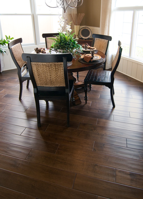 Stand Out With Grey Hardwood Flooring